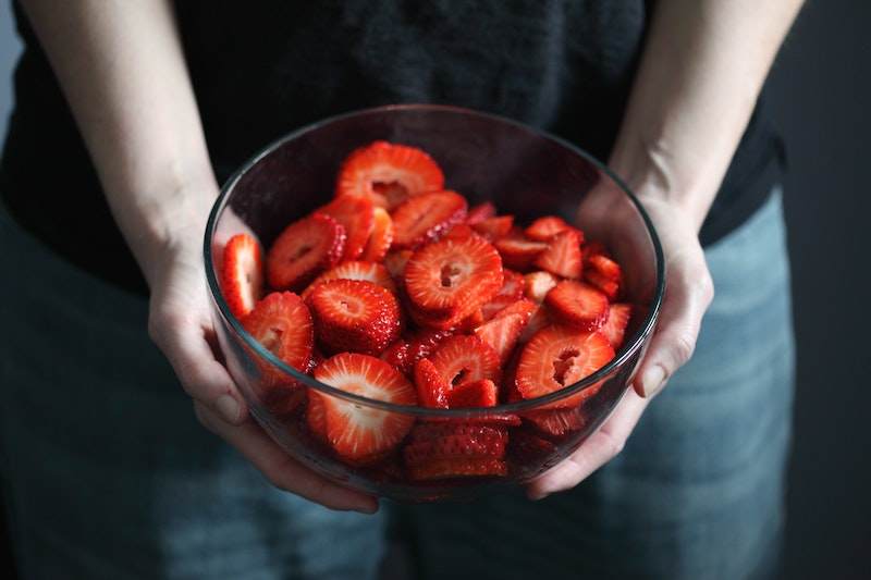 Strawberries After Having Tooth Pulled